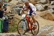 Jaroslav Kulhavý bojuje v závodě horských kol na olympiádě v Riu
