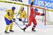 Michal Birner vstřelil druhou branku českého týmu