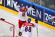 David Pastrňák si připsal asistenci na vítězném gólu Jana Kováře proti Norsku