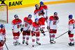 Zklamaní čeští hokejisté po vyřazení ve čtvrtfinále MS 2017 s Ruskem