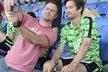 O společnou selfie s Tomášem Rosickým byl velký zájem