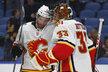 Osmnáct sekund dělilo Davida Ritticha v Buffalu od první vychytané nuly v NHL.
