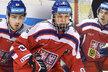Čeští mladíci dostali na turnaji v Pardubicích hodně prostoru