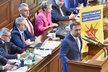 Marian Jurečka před hlasováním o důvěře vládě