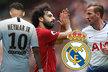 Hvězdní útočníci, které v létě chtěl získat Real Madrid. Neymar, Mohamed Salah i Harry Kane