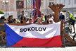 Lidé v Sokolově fandili rodačce Markétě Vondroušové ve finále Roland Garros na Starém náměstí