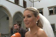 Miss Iveta Lutovská se provdala