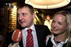 Manželé Vít Bárta a Kateřina Klasnová hovoří o svém manželském soužití