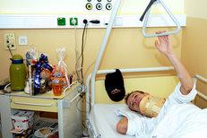 O příčinách pádu může Roman Koudelka zatím jen spekulovat