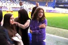 Justin Bieber navštívil Chelsea.