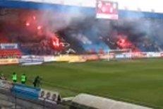 Fanoušci Plzně si vzpomněli na Davida Bystroně a při zápase s Olomoucí si pro něj připravili choreo Legenda zůstává
