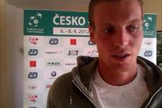 Tomáš Berdych mluví o absenci Novaka Djokoviče