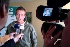 Tomáš Berdych v rozhovoru s novináři