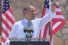 Barack Obama zpívá hit od LMFAO
