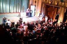 Standing ovation pro Věru Čáslavskou