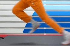 Usain Bolt v nové reklamě na obuv EvoSpeed