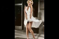 České celebrity jako Marilyn