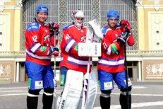 Podívejte se, jak probíhalo focení Lva pro Sport speciál Hokej