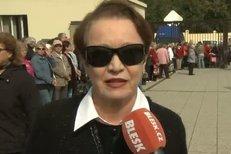 Na pohřeb R. Brzobohatého dorazila i herečka Hana Maciuchová