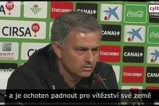 Trenér José Mourinho mluvil o tom, že by se fotbalisté Realu Madrid měli inspirovat Štěpánkovým příkladem. Co si o tom myslí Štěpánkův otec Vlastimil?
