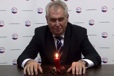 Novoroční projev Miloše Zemana