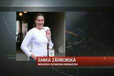 Šárka Záhrobská se po operaci nádoru na mozku úspěšně vrátila k lyžování a v letošním SP už sbírá body.