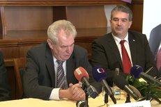 Miloš Zeman se vyjádřil k výroku Grebeníčka