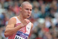 Český atletický objev Maslák se v Ostravě utká i s Boltem