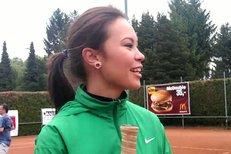 Monika Leová na tenise