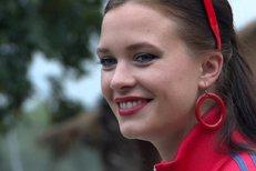 Hvězda Gymplu Kristýna Leichtová: Děsivé zranění oka! Co se stalo?
