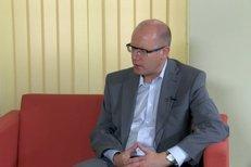 Reflex mluví s lídry: Bohuslav Sobotka