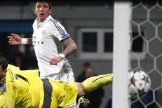 Mandžukič neměl zůstat sám, litoval Kozáčik jediného gólu Bayernu