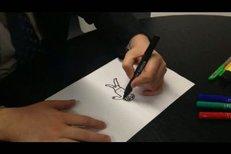 Takhle kreslil Okamura Ježíška