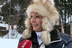 Vondráčková v beranici k nepoznání! Kam jela na lyže?