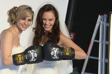 Marešová a Leová ve svatebním s boxerkami! Chlapi, těšte se!