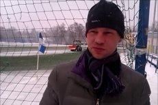 Jan Rajnoch po svém prvním tréninku v liberecké zimě