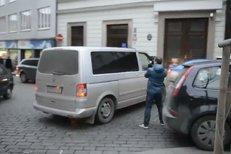 Převoz obviněných v kauze Rittig