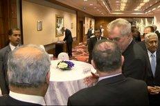 Miloš Zeman o Válkové: Podělala se! Jeho slova zachytila kamera FTV Prima