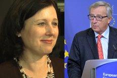 Jourová o líbačce s předsedou Evropské komise!