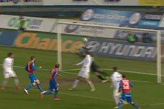 Ostrava - Plzeň: Gól Františka Rajtorala na 0:2