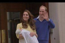 Tohle je nová britská princezna! Kate a William ukázali miminko!