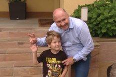 """Michal David a jeho """"vnukosyn"""" Sebastian: Bude zpěvákem!"""