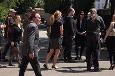 Šok na pohřbu Káji Saudka! Dorazil jeho bratr Jan