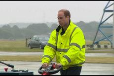 Princ William nastoupil do práce: Stal se pilotem záchranky!