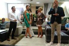 Zahájení Siréna party s nejkrásnějšími ženami Česka.
