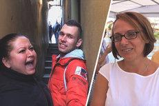 Svět se směje Praze: Lidé se zasekávají v uličce. A Krnáčová o své  »Krndě«