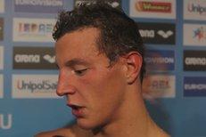 Micka se dere mezi nejlepší plavce: Na olympiádě chci do finále