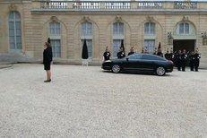 Přijetí premiéra Bohuslava Sobotky (ČSSD) u francouzského premiéra Vallse i prezidenta Hollanda.