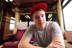Jirka - Pokec ve vlaku - Novinky, přítelkyně, Utubering