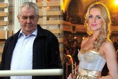Zeman chce zrušit televizní poplatky. A Gunčíková oslnila Evropu